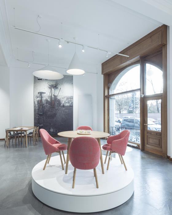 Berlin Ton As Von Menschen Gefertigte Stühle