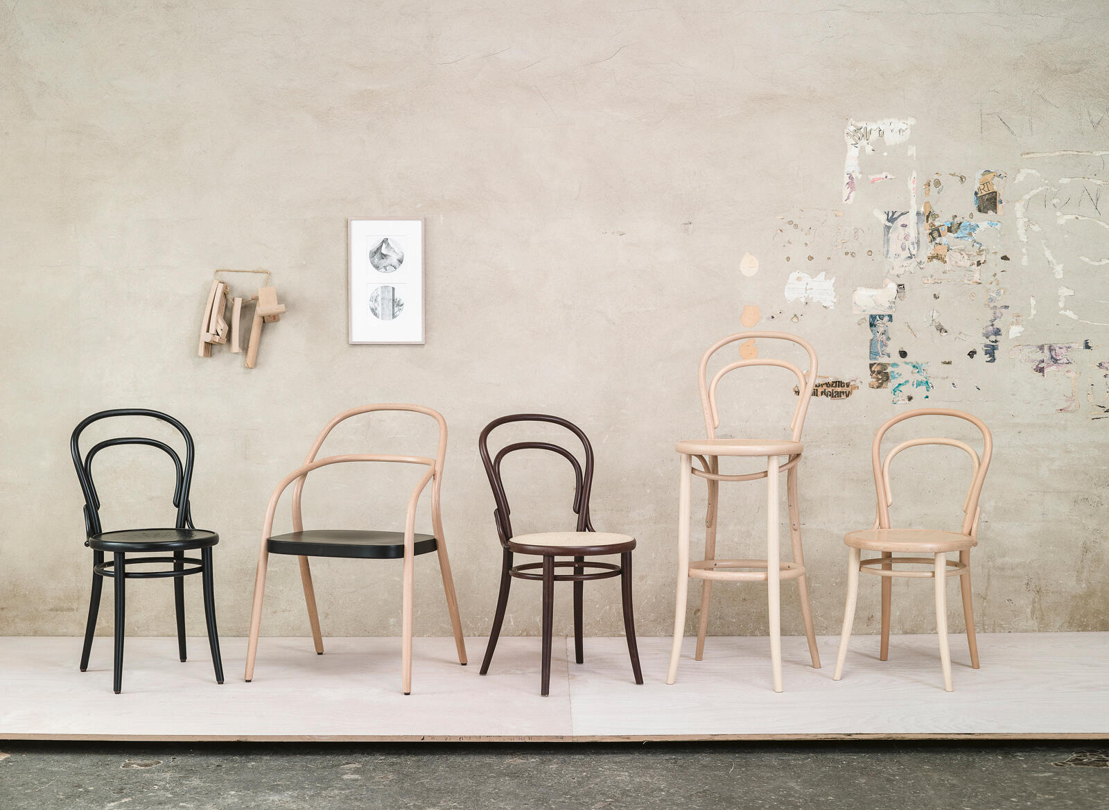 6 chair  TON a.s. - Handcrafted for generations