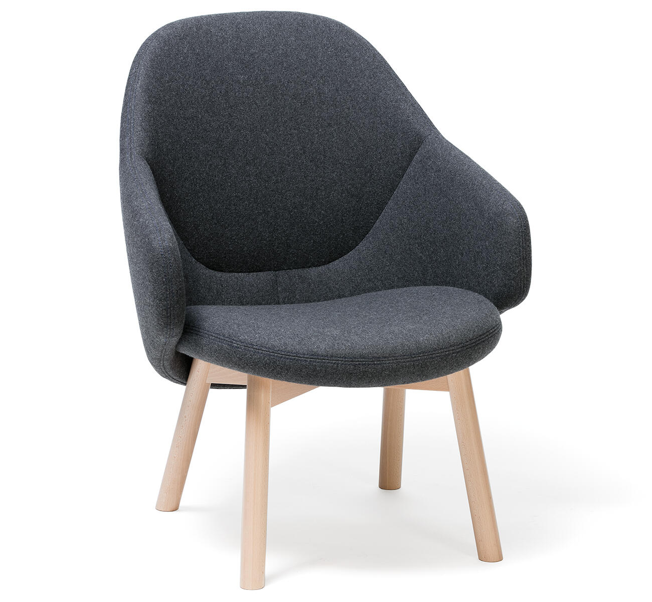 Super Alba Lounge Armchair Ton A S Handcrafted For Generations Unemploymentrelief Wooden Chair Designs For Living Room Unemploymentrelieforg