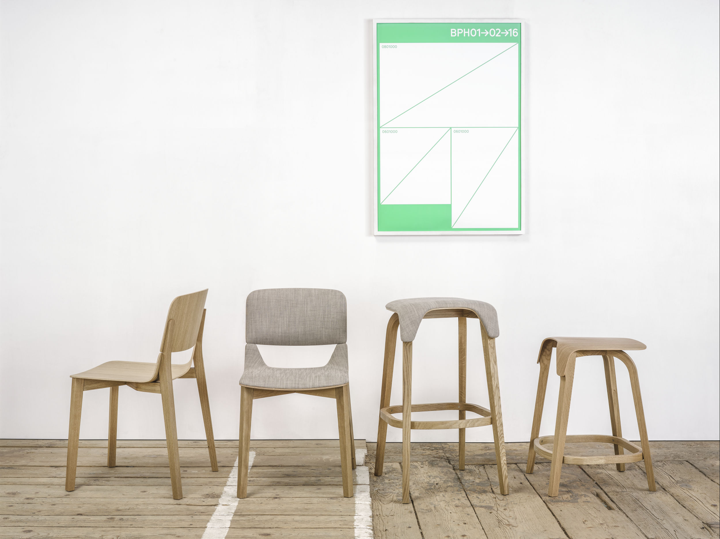 The iF Design Award 2017 goes to the Leaf Chair and Bar stool